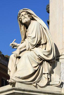Isaiah Statue
