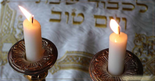 Shabbat Candles Two