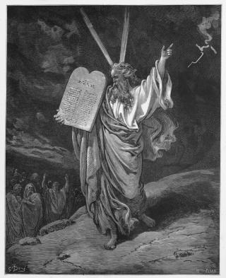 Moses Mt Sinai