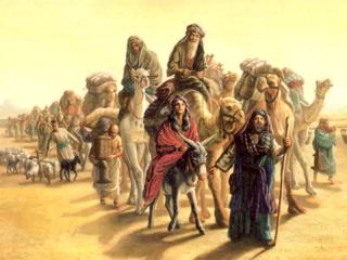 Abraham traveling